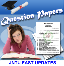 JNTUK B.Tech/B.Pharmacy/MBA/MCA/M.Tech all Years Question papers Collection