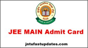 JEE Main Admit Card 2018 Download (Available) – JEE Mains Candidate Login & Hall Ticket @ jeemain.nic.in