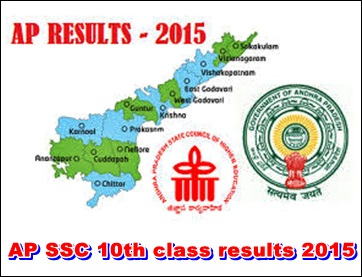 AP Tenth/10th/SSC Class Results 2015 Released @ Allindiablog