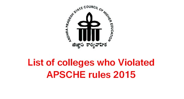 List-of-colleges-who-Violated-APSCHE-rules-2015