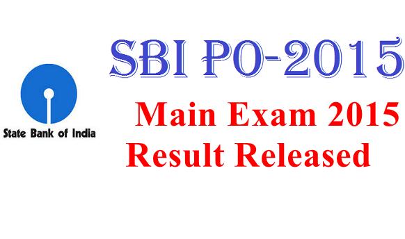 SBI PO 2018 Result & Marks