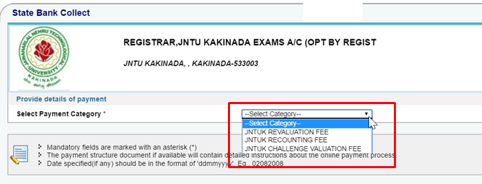 jntuk rc-rv-online apply procedure-2