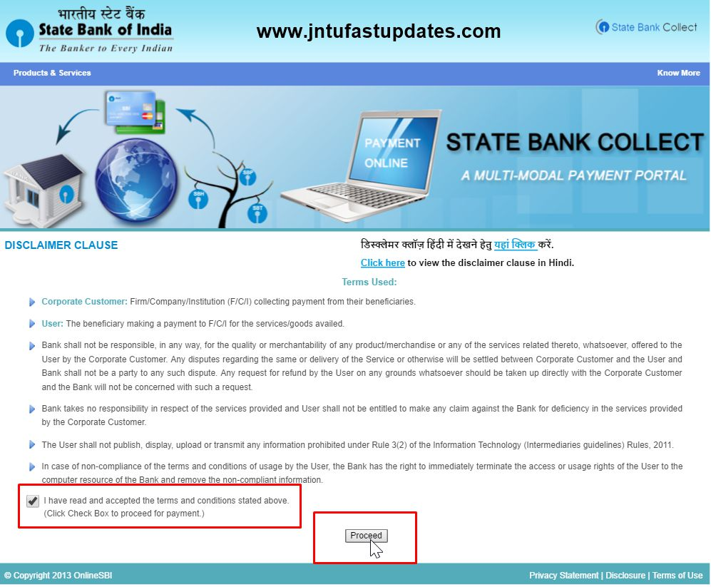 jntuk rc-rv-online apply procedure