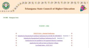 TS ICET 2016 Counselling Dates Rank Wise, Web Options, Seat Allotment