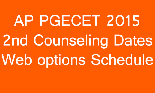 ap-pgecet-2015-2nd-counseling-dates