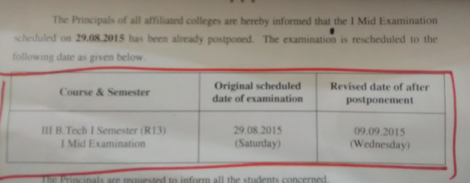 jntuk rescheduled dates