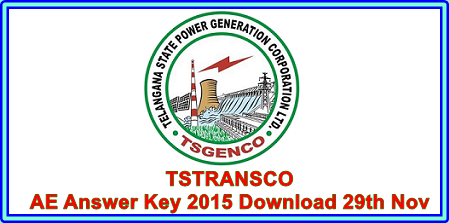TSTRANSCO AE Answer Key 2015 Download - Question Paper Cut off Marks