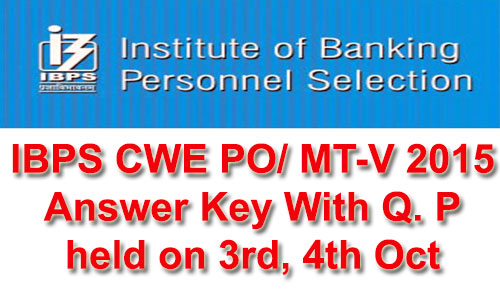 ibps-answer-key-2015