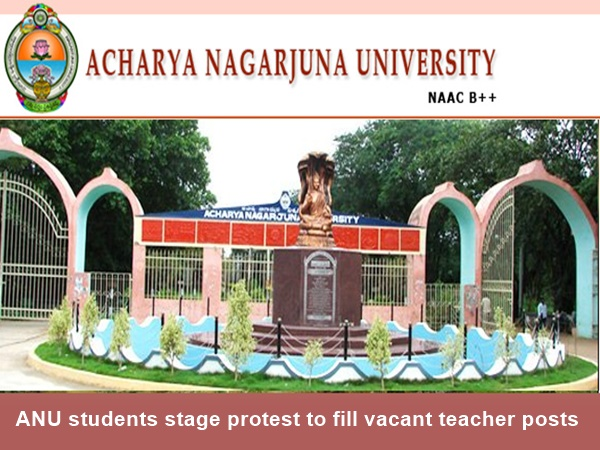 ANU students stage protest to fill vacant teacher posts