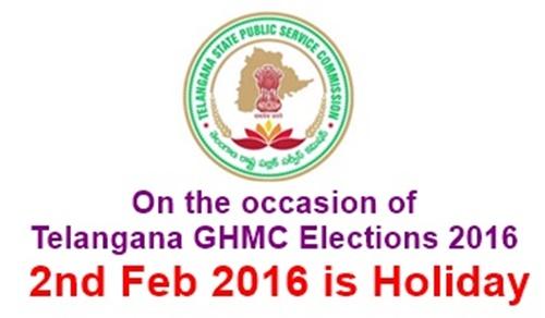 Telangana GHMC Elections 2016
