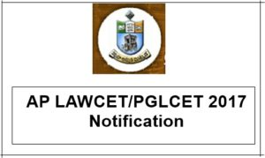 AP LAWCET/PGLCET 2017 Notification, Online Application, Exam Dates @ sche.ap.gov.in