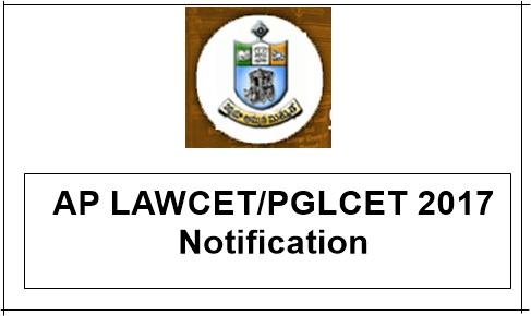 AP LAWCET/PGLCET 2017 Notification