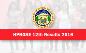 HPBOSE 12th Result 2017 – HP Board 12th Class Results (Plus Two) Merit List @ hpbose.org