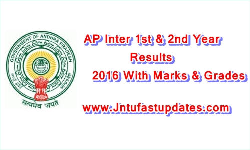 AP Inter Results 2017 for 1st/2nd year