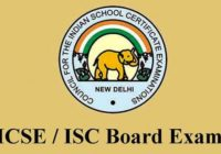 ISC 12th Result 2016 @ www.cisce.org, CISCE 12th (XII) Class Results/ Marks List