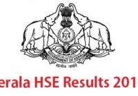 Kerala HSE Result 2016