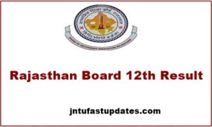 Rajasthan 12th Supply Result 2017 Released – RBSE 12th Class Science, Commerce Results & Marks @ rajresults.nic.in