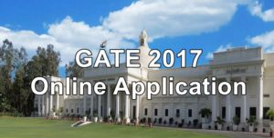 GATE 2017 Online Registration Options Change till 22nd Nov @ gate.iitr.ernet.in