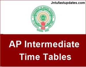 AP Inter 2nd Year Public Exam Time Tables March 2018 Download Manabadi, Bieap.gov.in