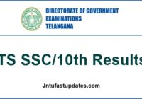 Telangana 10th Class Results 2017