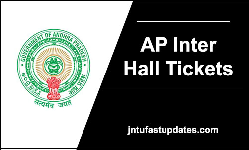 AP Inter 1st & 2nd Year Hall Tickets 2018