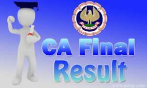 CA Final Result Nov 2017 – Download CA CPT Results Dec Name Wise (Toppers List & Pass Percentage)