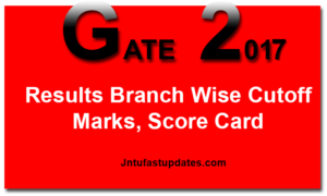 GATE Result 2017 (Released) – Download Score Card For CSE, ECE, MECH, CIVIL @ appsgate.iitr.ac.in