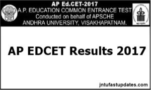 AP EDCET Results 2017 Manabadi – Download EdCET Rank Card @ sche.ap.gov.in