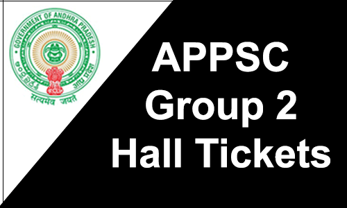 APPSC Group 2 Hall Tickets