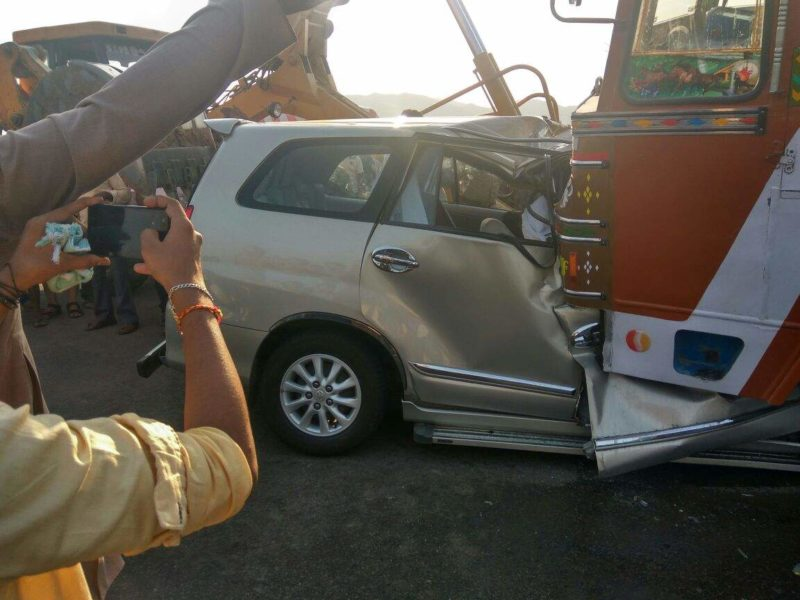 JNTUA VC MMM Sarcar died In A Road Accident