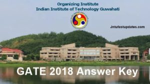 GATE Answer Key 2018 For All Branches – ME, CS, EC, EE, CE Download with Question Papers