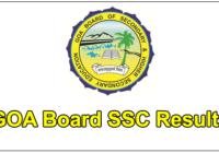 goa ssc results 2017