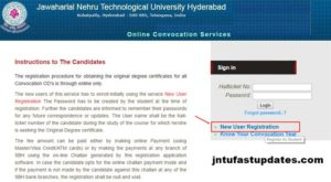 JNTUH OD Apply Online 2018 Procedure – Original Degree Application, Registration
