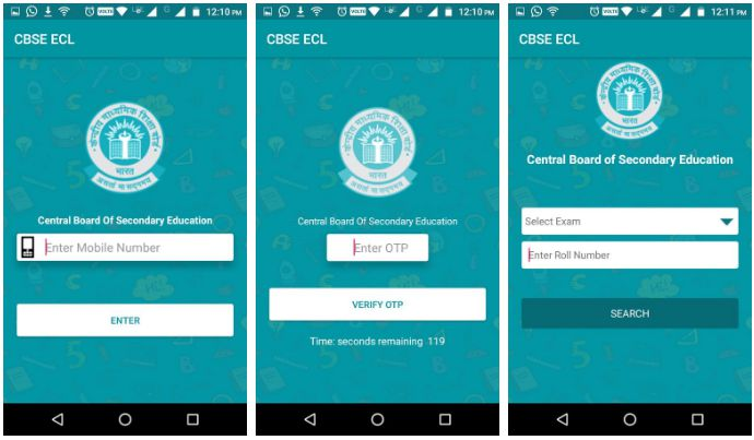 CBSE Exam Centre Locator application
