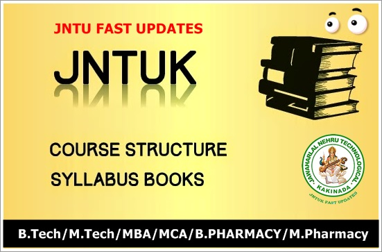 Jntuk-syllabus-books
