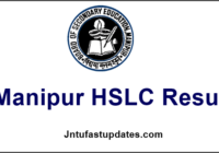 Manipur HSLC Result 2017