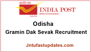 Odisha Postal Circle Recruitment 2017 – Apply Online for 1072 Gramin Dak Sevak (Postman) Jobs