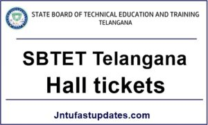 TS SBTET Diploma Hall Tickets 2018 Download C16, C14, C09 & ER-91 @ sbtet.telangana.gov.in