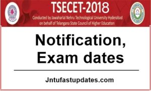 TS ECET 2018 Notification, Online Application form, Exam Dates @ ecet.tsche.ac.in