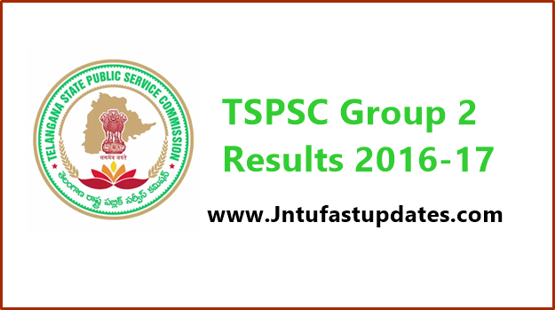 TSPSC Group 2 Results 2016