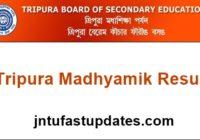 Tripura Madhyamik Result 2017