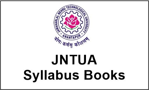 jntua syllabus books