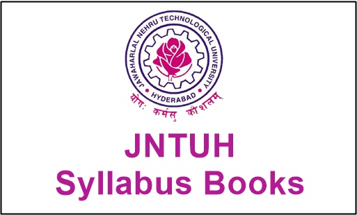 jntuh syllabus books