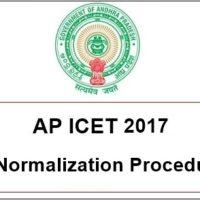 AP ICET 2017 Normalization Procedure