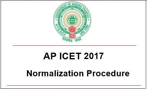 AP ICET 2017 Normalization Procedure