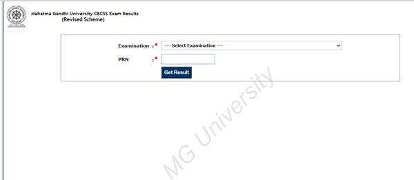 MGU Degree result 2021