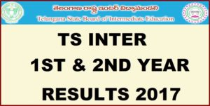 TS Inter 1st & 2nd Year Results 2017 (Released) Name Wise Marks List @ Manabadi, Eenadu