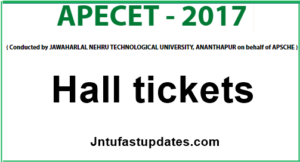 AP ECET 2017 Hall Tickets Download (Available) – Engineering Common Entrance Test Admit card @ sche.ap.gov.in/ECET/