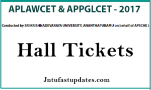 AP LAWCET 2017 Hall Tickets Download Now @ sche.ap.gov.in