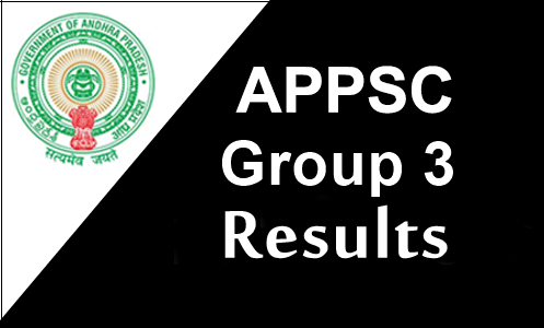 APPSC Group 3 Results 2017
